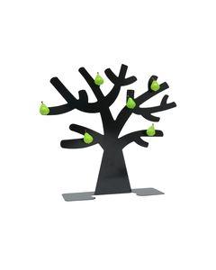 Fotoboom in zwart metaal met 6 peer magneten