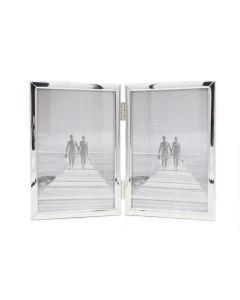 Van Ommen - Serie 320 - fotolijst - tweeluik - 15x20 - zilver