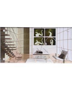 Henzo - Clear Style - fotolijst - voor 10x20 - plexiglas