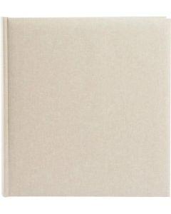 Goldbuch - Summertime Trend 2 - linnen fotoalbum - beige - witte bladen - 60 pag. 30x31cm