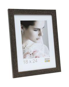 Deknudt - S41VG2 - fotolijst - voor 9x13 - zwart met glittereffect