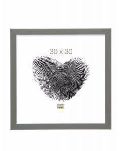 Deknudt - S41VK7 - fotolijst - voor 9x13 - grijs met zilverbies