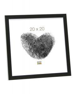 Deknudt - S43AL2 - fotolijst - voor 18x24 - zwart/wit