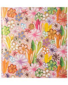 Goldbuch - Aqua Flowers- gedecoreerd fotoalbum - witte bladen - 30x31cm