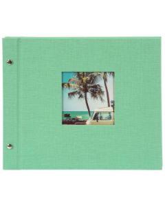 Goldbuch - Bella Vista Losbladig fotoalbum - mint - zwarte bladen - 30x25cm