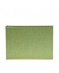 Goldbuch - Summertime - linnen fotoalbum - groen - 36 witte pagina's - 16x22cm