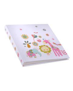 Goldbuch - Babyalbum - Paradise - meerkleurig - witte bladen met tekst - 30x31cm