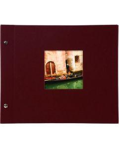 Goldbuch - Bella Vista Losbladig fotoalbum - bordeaux - witte bladen - 30x25cm