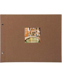 Goldbuch - Bella Vista Losbladig fotoalbum - brons - witte bladen - 30x25cm
