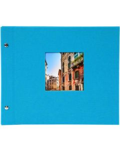 Goldbuch - Bella Vista Losbladig fotoalbum - turquoise - zwarte bladen - 39x31cm