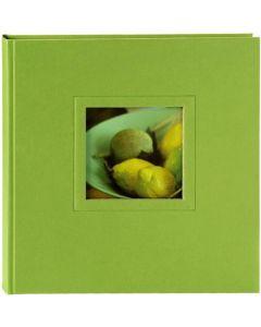Goldbuch - Colore - linnen fotoalbum - groen - witte bladen - 20x22cm