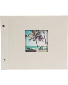 Goldbuch - Bella Vista Losbladig fotoalbum - beige - zwarte bladen - 30x25cm