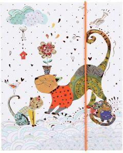 Goldbuch - cat - leporello kinderalbum - meerkleurig - 10 foto's - 15,5x19cm