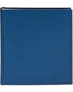 Goldbuch - Summertime - linnen fotoalbum - blauw - witte bladen - 25x25cm