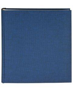 Goldbuch - Summertime Classic - linnen fotoalbum - blauw - 100 witte bladen - 35x36cm