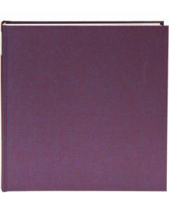 Goldbuch - Summertime Trend - linnen fotoalbum - paars - 100 witte pagina's - 30x31cm