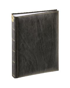 Henzo - Basicline fotoalbum - zwart - witte bladen - 30x36,5cm
