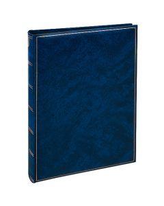 Henzo - Basicline fotoalbum - blauw - witte bladen - 30x36,5cm