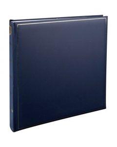 Henzo - Champagne fotoalbum - blauw - witte bladen - 35x35cm