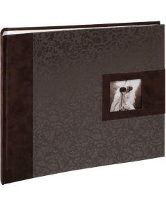 Henzo - Deluca - gedecoreerd trouwalbum - witte bladen - 31x34cm