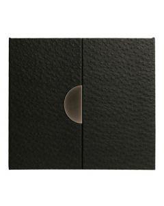 Henzo - Emoe - Fotoalbum - zwart - zwarte bladen - 34x33,5cm