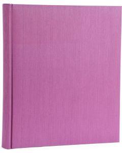 Henzo - Promo Kashmir fotoalbum - paars - witte bladen - 35x35cm