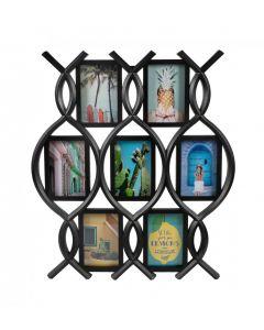 Henzo Rose Gallery 7x10x15 zwart collagelijst