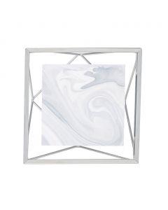 Umbra - Prisma - fotolijst - voor 10x10 - zilverkleurig - 15,3x15,3