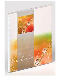 Walther - Felicity - inschuifalbum - oranje - voor 11,5x15,5cm