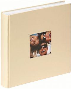 Walther - Fun - inplak fotoalbum - beige - witte bladen - 30x30cm