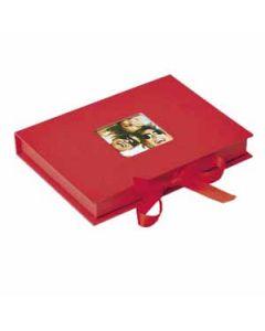 Walther - Fun - geschenkbox - rood - voor 70 13x18 foto's