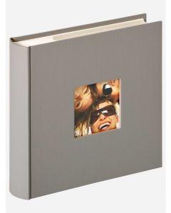 Walther - Fun - inschuifalbum - grijs - voor 10x15cm - 22x22cm