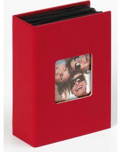 Walther - Fun - Inschuifalbum - rood - voor 10x15cm - 12,5x17cm