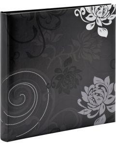Walther - Grindy - inplak fotoalbum - meerkleurig - zwarte bladen - 30x30cm
