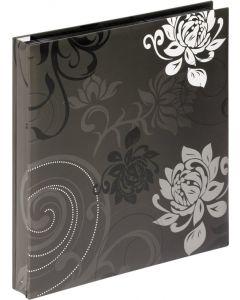 Walther - Grindy - inschuif fotoalbum - meerkleurig - zwarte bladen - 32x30cm