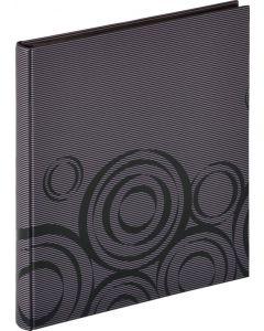 Walther - Orbit - inplak fotoalbum - zwart - zwarte bladen - 30x33cm