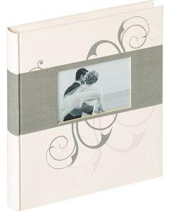 Walther - Romance - Trouwalbum - witte bladen - 30,5x28cm - met 2 tekstpagina's